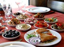 תפריט מגוון במסעדת הבית של דורון