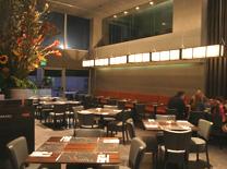 מרחב פנימי במסעדת אג'נדה