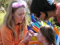 שביל בגן: קפה מסעדה עם פעילויות לילדים