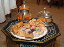 קינוחים מרוקאיים מסורתיים במרקש