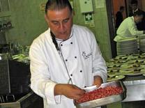 אביר של הרפובליקה האיטלקית. שף משה בסון ממסעדת אקליפטוס הקטנה