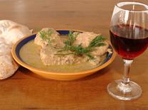 מסעדת דדה: כדאי לנסות גם יין גרוזיני- חבנצ'קרה