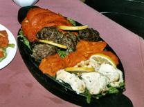 מנות חריפות למדי. מסעדת קארי פאלאס