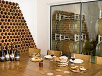 ארוחה קלה מלווה בטעימות יין בסדנה של יקב צרעה