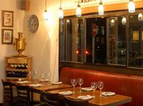 מסעדה עם אוכל טורקי אקלקטי. מסעדת גפן