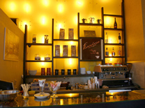 בית קפה לדייט או לבילוי עם חברים