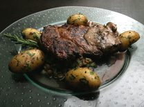 מסעדה עם שף שאוהב בשר בקר