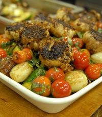 מומלצת: ארוחת לוסטיג, הכוללת ארבעה סוגי בשרים
