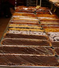 עוגת שוקולד אספרסו, קראנץ' ריקוטה ושטרוייזל...