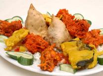 מנות מסורתיות מהמטבח הצפון- הודי במסעדה במודיעין