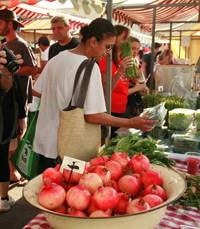 פירות וירקות, אורגניים ורגילים, ועוד מוצרי משק