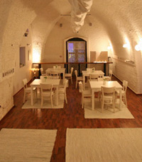 מסעדה הממוקמת ב''בית הגדול'' בביתן אהרון