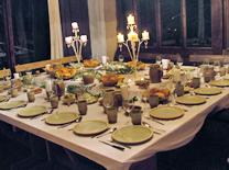 ארוחה ולינה בבית אוכל בקתות בערפל