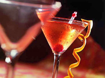 המשקאות הוגשו בכמות נדיבה והוכנו בתשומת לב