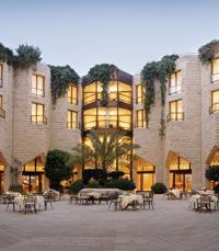 מסעדה הממוקמת במלון ענבל היוקרתי שבירושלים