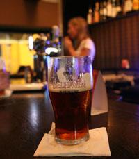 בירה סקוטית מסוג אייל, אדומה, וקצת מתקתקה