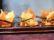 מנת הדגל: מאפה פילו במילוי גבינות