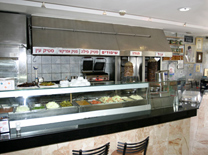 תפריט כשר עשיר במסעדת ישראל