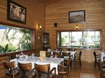 המסעדה ממוקמת במתחם גדול ונעים, בסמוך למשתלה