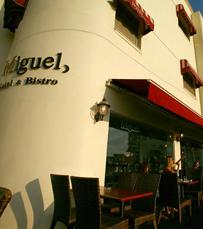 סגנון אירופאי-קלאסי. מסעדת מיגל