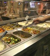 ארוחות עסקיות, ארוחות ילדים ומנות צמחוניות