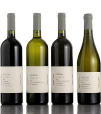 יינות מסוג קברנה סביניון, שרדונה ומרלו. סדרת רזרב