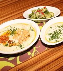 אירועים על טהרת חומוס עם בשר, במסעדת קומפלט