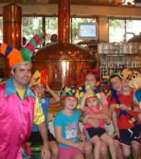הפעלות לילדים במסעדת ברוהאוס בתל אביב
