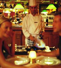 תפריט עשיר ומעודן של מטעמי המטבח הצרפתי