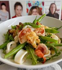 אוכל בריא, אבל טעים ולא מרתיע. מסעדת קום איל פו