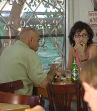 אחת ממעוזות העדה הבולגרית בישראל. מסעדת מונקה