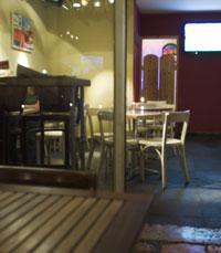 קפה-מסעדה אינטימי בין סמטאות שכונת רחביה הציורית