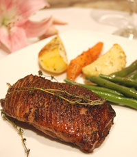 """""""הבשר במיטושוס איכותי, עשוי היטב ועסיסי במידה"""""""