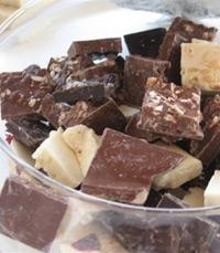 לילדים שמעדיפים לארוחה מנה מרוכזת של שוקולד