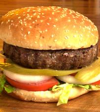 משלוח של המבורגרים ובשר ממסעדה בחיפה