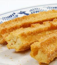 הצ'ורוס- בצק מתוק, מטוגן בשמן עמוק