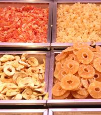 מסעדות מציעות מנות מיוחדות על בסיס פירות יבשים