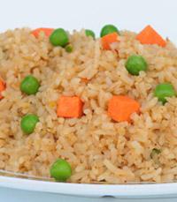 מבחר תוספות לבחירה: אורז מתובל, פירה, צ'יפס ועוד