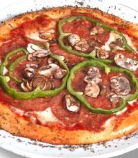 תוספות מגוונות על הפיצה