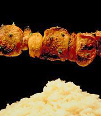 שיפודי פרגיות כוללת תוספות (75 ₪)