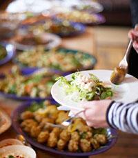 ארוחות קטנות יוצרות תחושת שובע