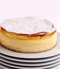 עוגת גבינה אפויה, אוורירית, עדינה, בטעם ביתי