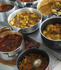 מאכלים מצריים -סופריטו, מדיאס, עלי גפן ממולאים