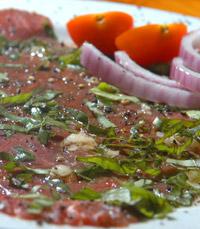 בשר מעולה יהיה בצבע אדום זרחני