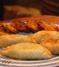 תפריט צמחוני:מסלה דושה, צ'פטי עם מילוי עדשים