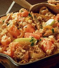 Wok אורז עוף, Wok אורז בקר, Wok אורז ברווז