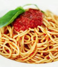 ספגטי ברוטב עגבניות