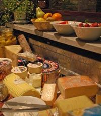 מבחר גבינות קשות, צהובות ולבנות