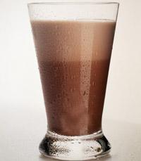 שוקו קר/חם שוקולטה, חלב וקרח מרוסק