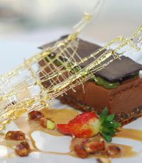 עוגת פאדג' שוקולד נימוחה